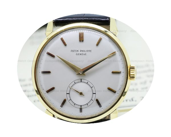 Patek Philippe Calatrava 18K Yellow Gold...