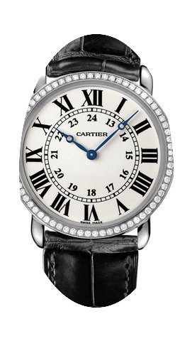 Cartier Ronde Louis Cartier Ladies Watch...