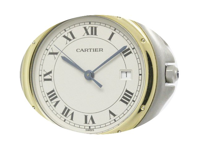 Cartier Panthere Cougar 18k Gold Steel Q...