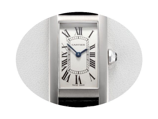 Cartier Lady Tank Americaine Weissgold 7...