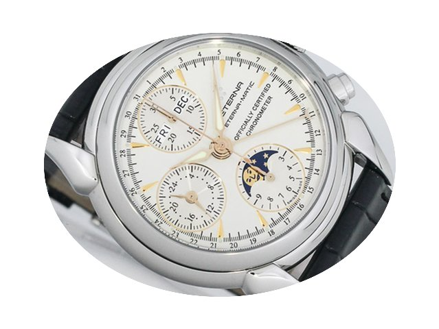 Eterna 1948 Mondphasen Chronograph...