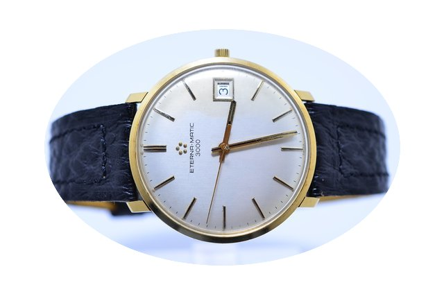 Eterna-Matic 3000 18k Gold...