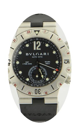 Bulgari Scuba GMT Chronograph Steel &...