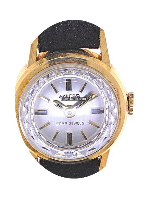 Enicar Ladies Wristwatch Star Jewels...
