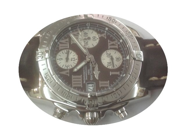 Breitling Chronographe and stainless ste...
