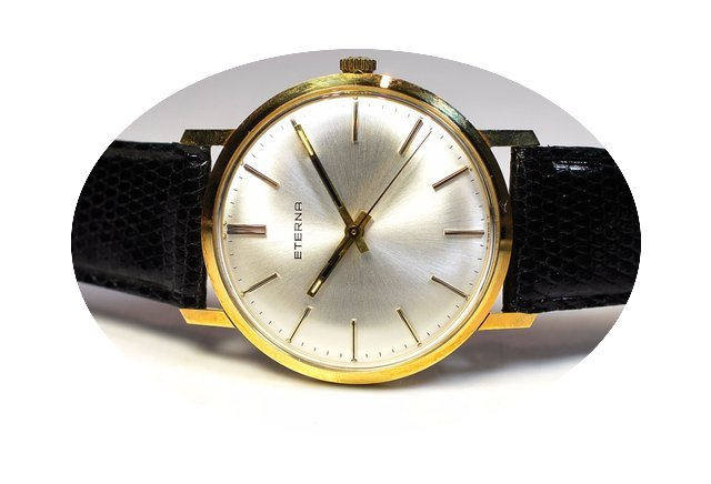 Eterna coin classic yellow gold 18k...