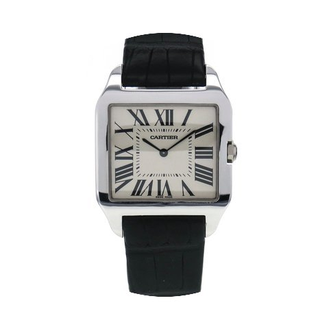 Cartier Santos Dumont White Gold Manual ...