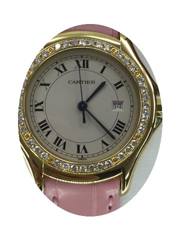 Cartier Cougart Gold & Diamons...