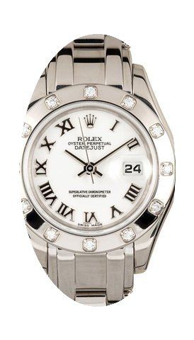Rolex Datejust Pearlmaster 29 80319 Whit...