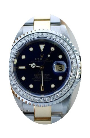 Rolex Submariner Mens 2 Tone watch With ...