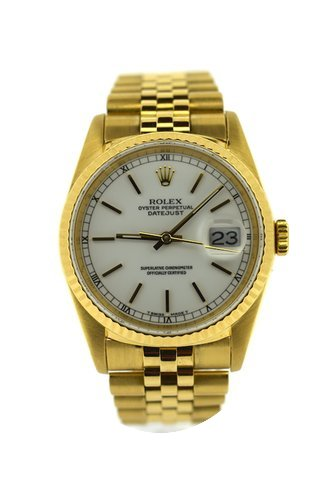 Rolex Beautiful Vintage Gold dateJust...
