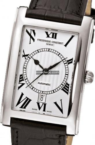 Frederique Constant Carree Silver Dial R...