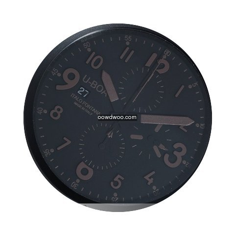 U-Boat Flightdeck 50 Black Ceramic 7094...