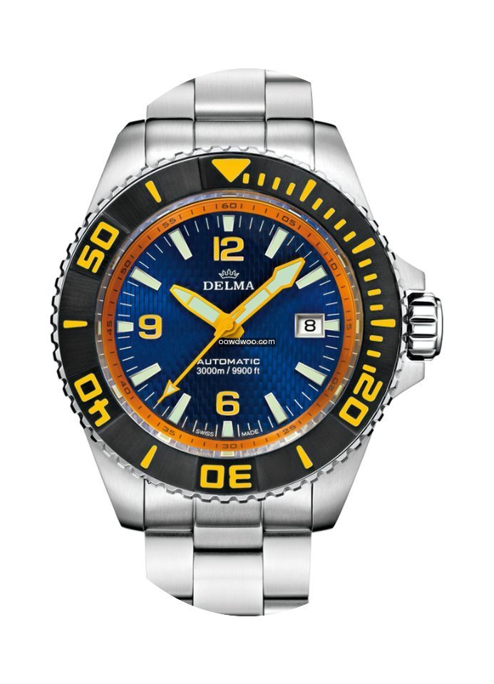 Delma Blue Shark II Automatic 3000m (Lim...