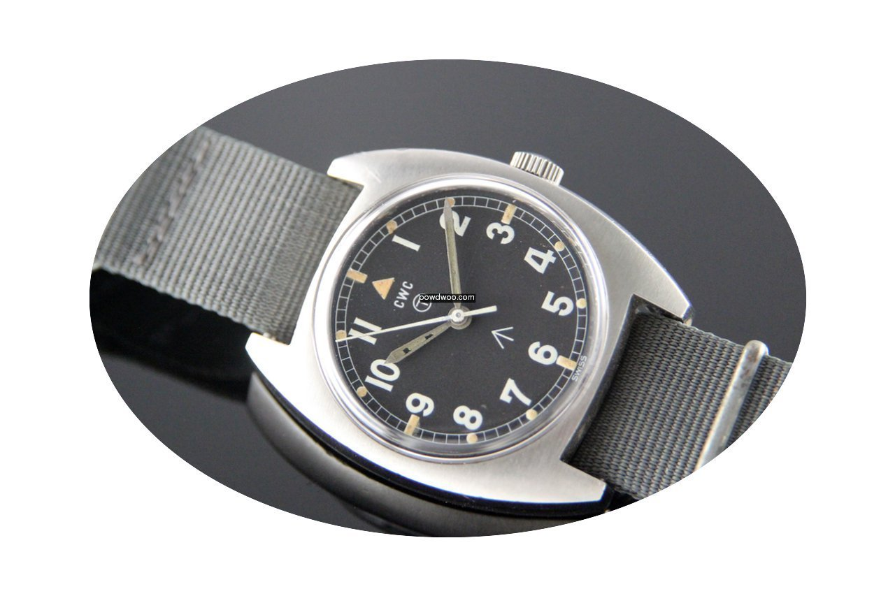 CWC W10 Military watch...