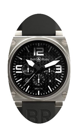 Bell & Ross BR01-94 Chronograph 46mm...