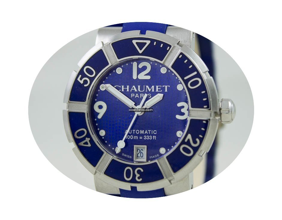 Chaumet Class One Steel Case Blue Dial...