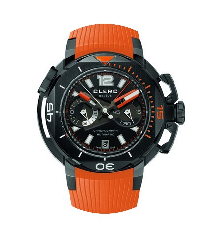 Clerc Hydroscaph L.E. Central Chronograp...
