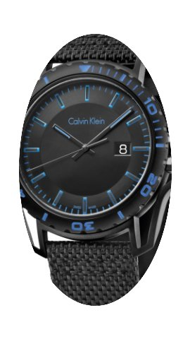 ck Calvin Klein Earth K5Y31YB1 Herrenarm...