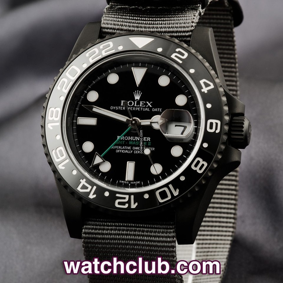 Pro-Hunter Ceramic GMT STEALTH MILITARY...
