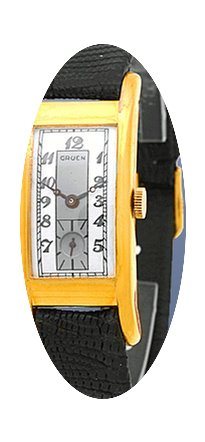 Gruen Rectangle Strapwatch....
