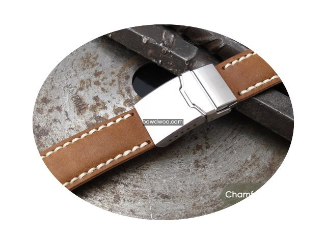 IWC 21mm Pull Up Leather Replacement Ban...