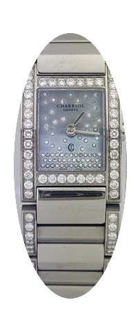 Charriol Megeve Stainless Steel Diamond ...
