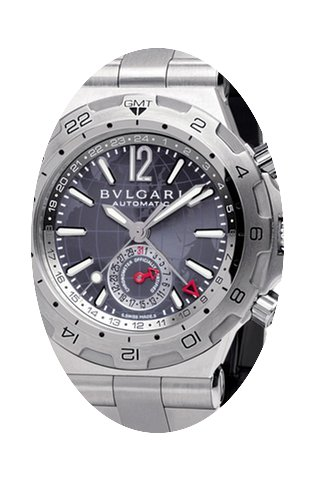 Bulgari Diagono Professional GMT 42mm Me...