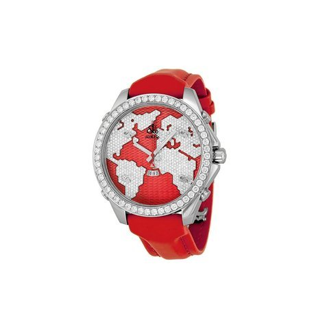 Jacob & Co. Red Stainless Steel Diam...