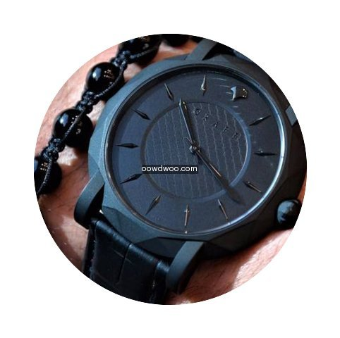 GrafF SLIM ECLIPSE TITANIUM BLACK DLC WA...