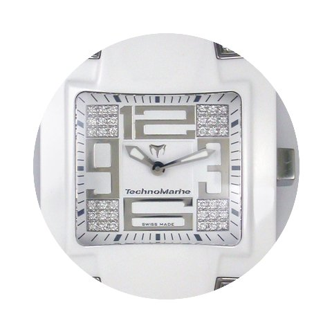 Technomarine SQUARE Diamonds Ceramic...