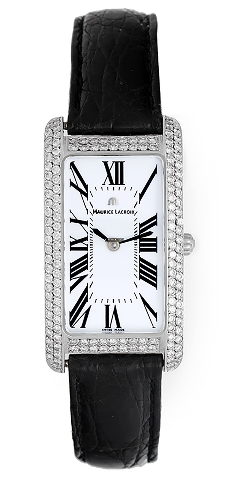 Maurice Lacroix Fiaba 18k White Gold & D...
