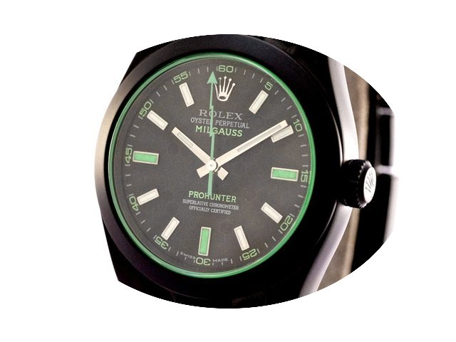 Pro-Hunter Rolex Green Milgauss Honeycom...