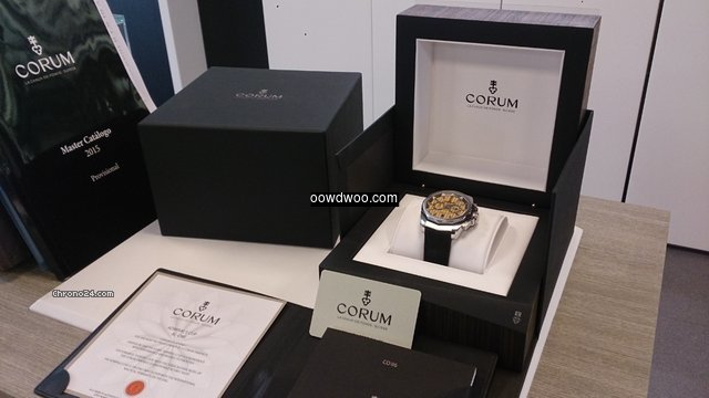 Corum ADMIRAL'S CUP AC-ONE 45 Chronograp...