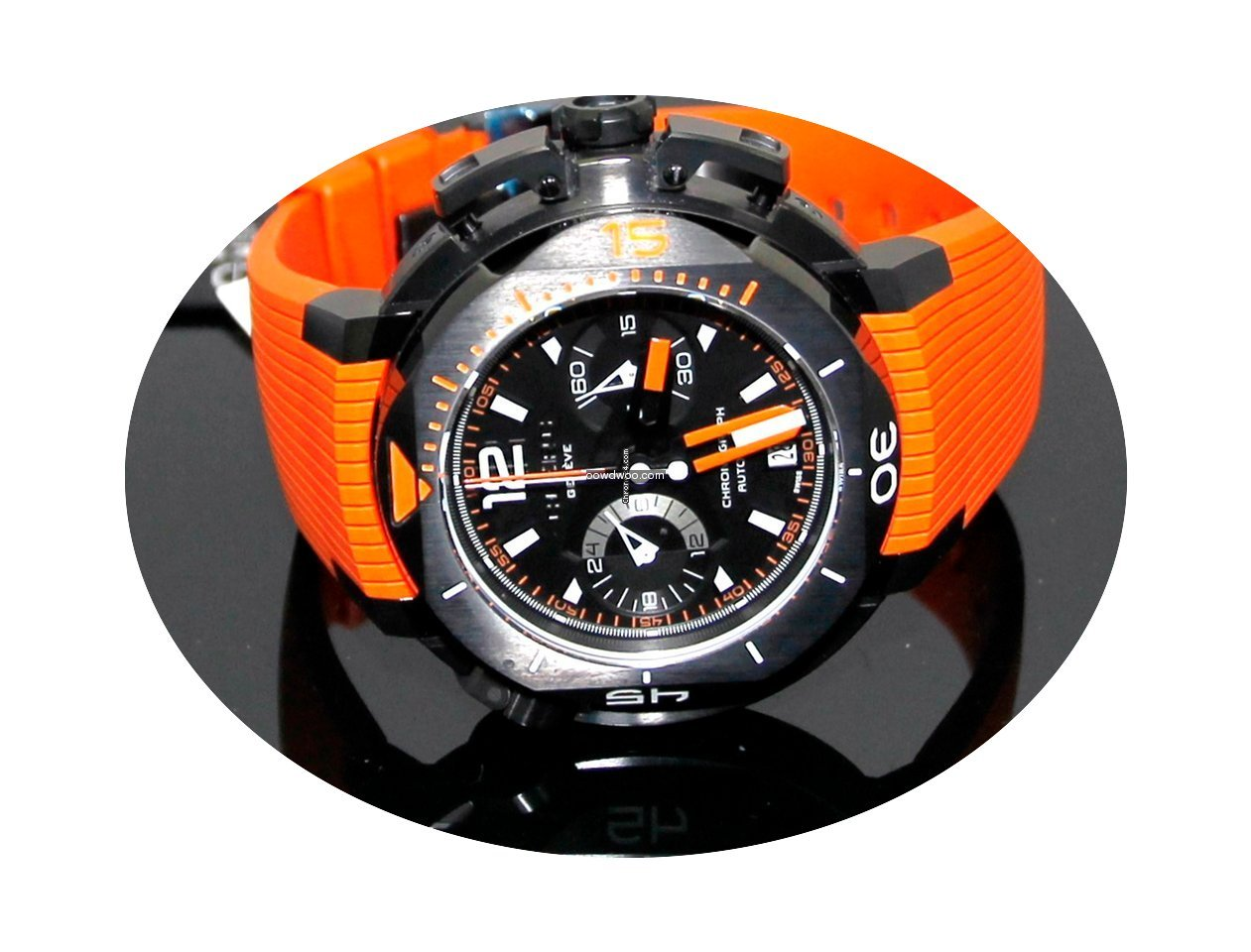 Clerc Hydroscaph Central Chronograph L.E...