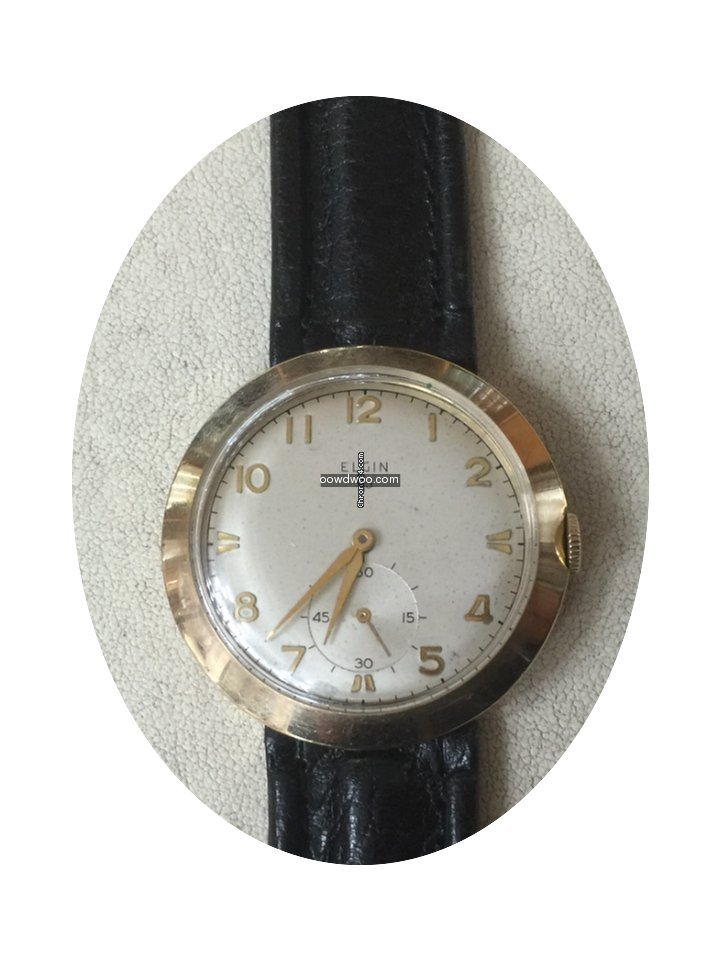 Elgin 34 oro Gold mm original acciaio...