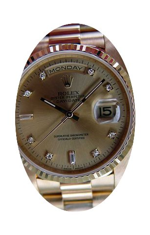 Rolex Mens President Watch With Geniune ...