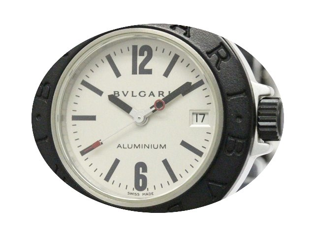 Bulgari Aluminium Rubber Quartz Ladies W...