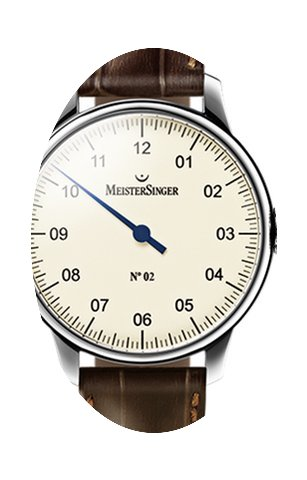 Meistersinger N 02 43mm Ivory Dial - AM ...