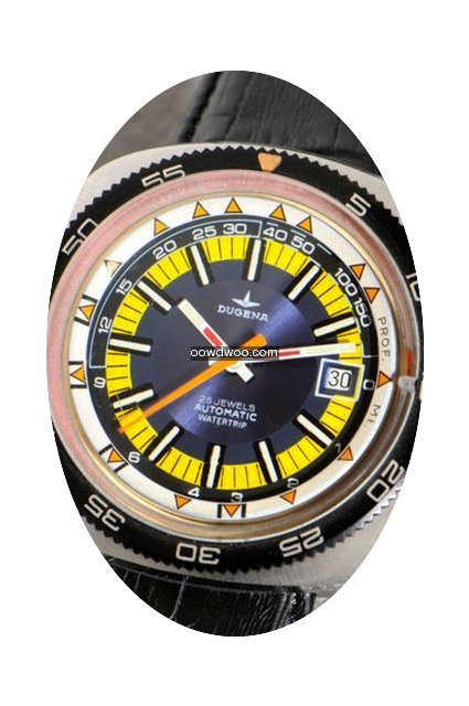 Dugena Watertrip diver' wristwatch with ...