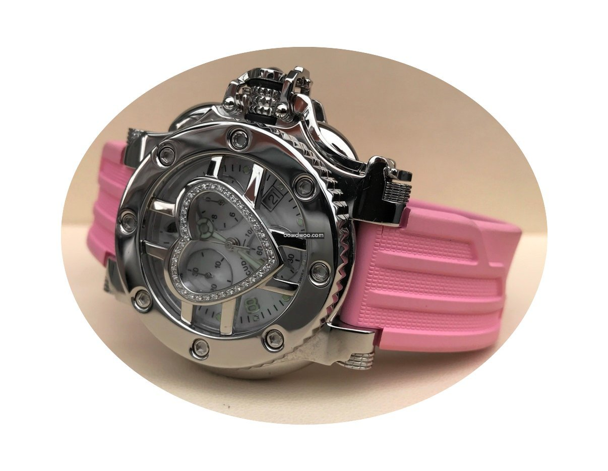 Aquanautic Bara Cuda Steel Lady Watch Di...