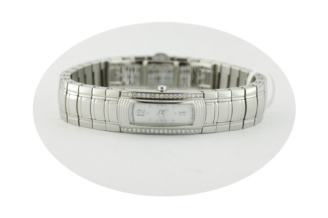 Mauboussin Diamond Railed Bracelet Watch...