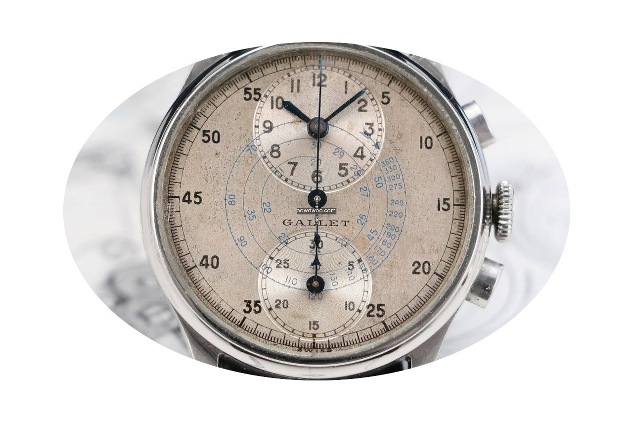 "Gallet MULTICHRON REGULATOR ""DON BLAKE..."