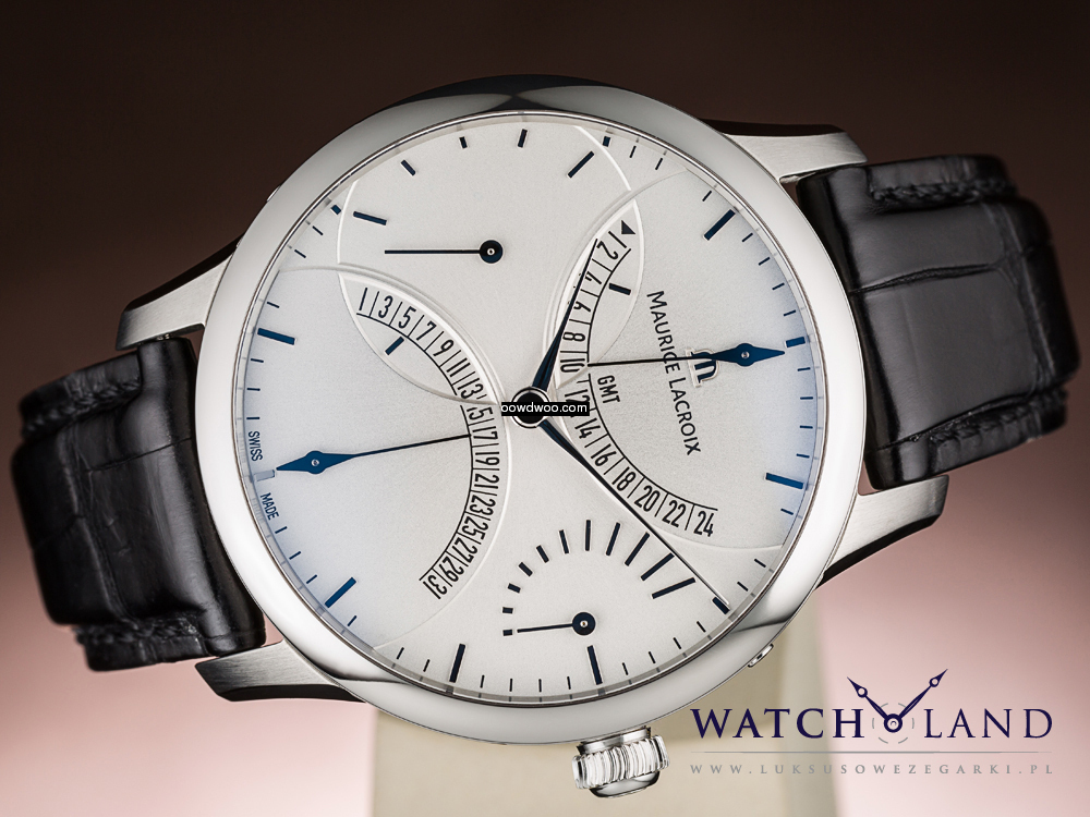 MAURICE LACROIX MASTERPIECE DOUBLE RETRO...