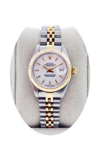 Rolex Datejust 69173 Ladies Two Tone No ...