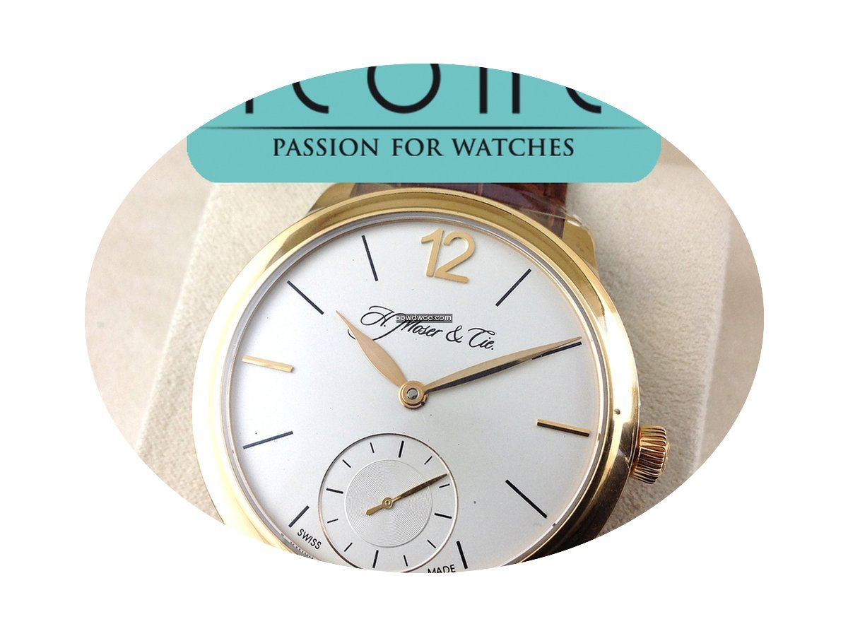 H.Moser & Cie. MAYU SMALL SECONDS 321.50...