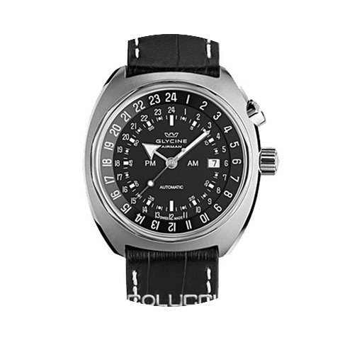 Glycine AIRMAN SST 12 black/blue/black-o...