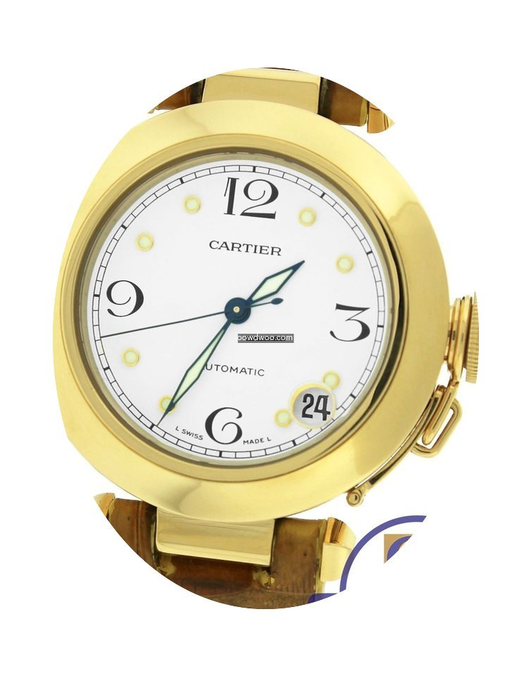 Cartier Pasha 35mm 1035 18K Yellow Gold ...