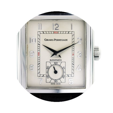 Girard Perregaux Stainless Steel Automat...