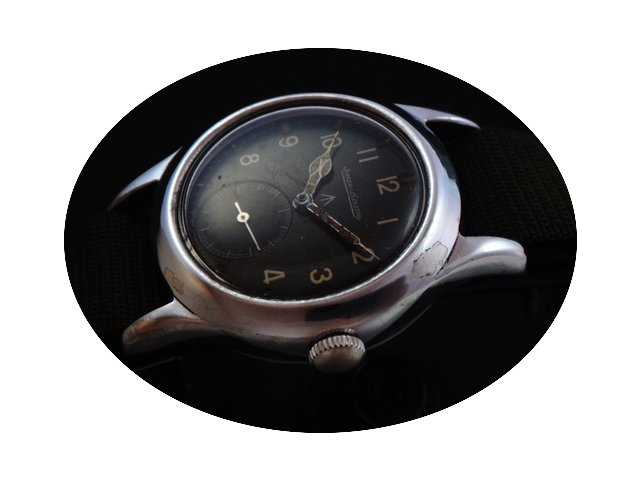 Jaeger-LeCoultre Rare Vintage Military 5...